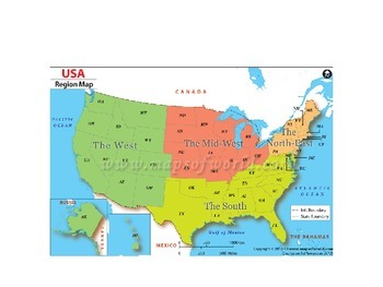 United States Regions Powerpoint Notes