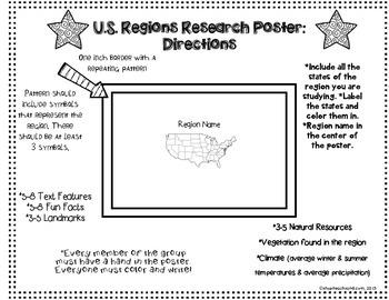 United States Regions Project FREEBIE