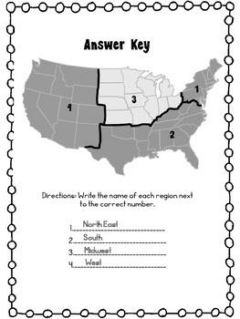 United States Regions Quiz