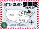 United States Regions Round Up Graphic Organizers {Differe
