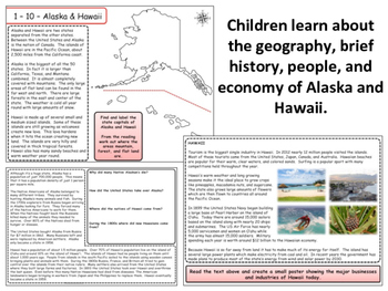 United States Regions - Section 10 - Alaska & Hawaii