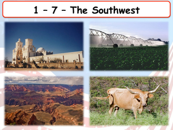 United States Regions - Section 7 - The Southwest