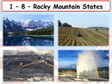 United States Regions - The Rocky Mountain States