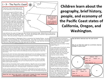 United States Regions - Section 9 - The Pacific Coast States