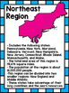 United States Regions ~ Set of 5 Informational Posters (Co