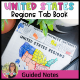 United States Regions Tab Book