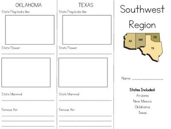 United States Regions Tri-folds