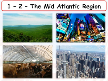 United States Regions - Section 2 - The Mid-Atlantic States