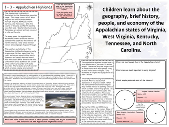 United States Regions - Appalachian States