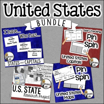 United States Research & Activity BUNDLE