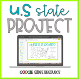 United States Research | Google Slides Resource | Distance