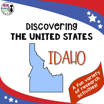 United States Research: Idaho (Printable AND Digital options!)