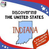 United States Research: Indiana (Printable AND Digital Options!)