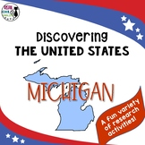 United States Research: Michigan (Printable AND Digital Options!)