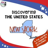 United States Research: New York (Printable AND Digital Options!)