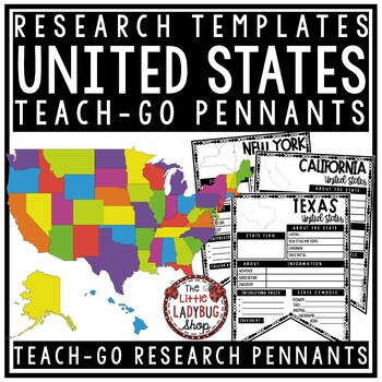 United States Research Bundle - Regions & US States Research