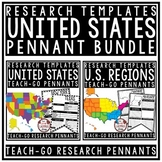 Regions of The United States Research Bundle - US Regions & US States Research