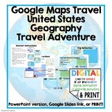 United States Road Trip Travel Adventure Digital Interacti