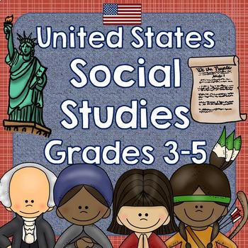 United States Social Studies Growing Bundle for Grades 3-5