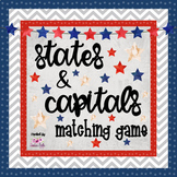 United States: States & Capitals Matching Game