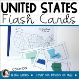 United States States and Capitals Flash Cards