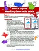 United States: States and Capitals Matching Game