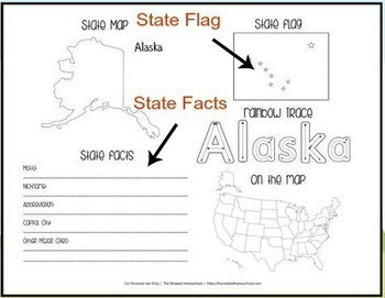 United States Study Unit - Each State Covered!
