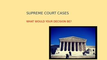 United States Supreme Court Decisions involving Teenagers