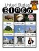 United States Symbols Bingo for Your K-2 Class