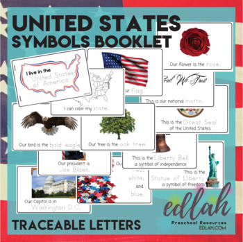 United States Symbols Booklet
