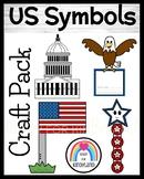 United States Symbols Craft Bundle for Kindergarten (America)