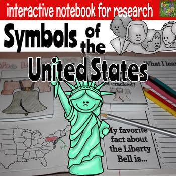 United States Symbols Interactive Notebook