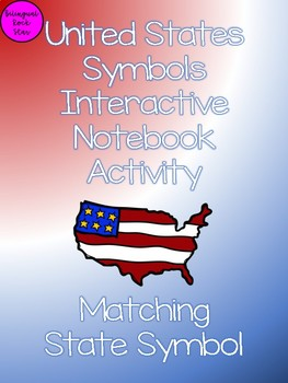 United States Symbols Interactive Notebook Flaps