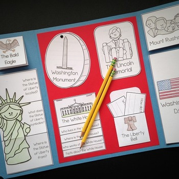 United States Symbols Lapbook Kit