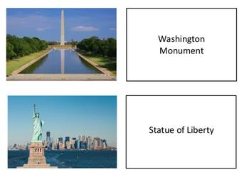 United States Symbols Memory Match
