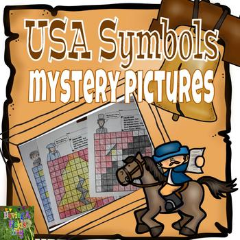 United States Symbols Mystery Pictures