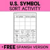 US Symbols Sorting Activity