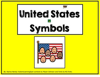 United States Symbols Story and Activities