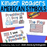 United States Symbols and Presidents Day Emergent Readers