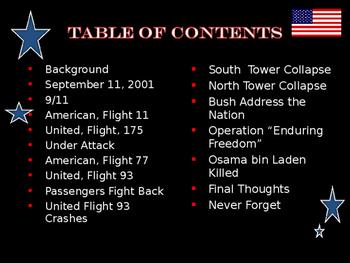 The United States & Terrorism  -  September 11 Attacks