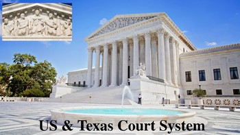 United States & Texas Court Systems Notes for Law Enforcement I