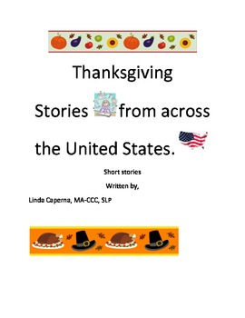 United States Thanksgiving stories with comprehension and