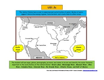 United States US History 1 SOL 2c Rivers Grade 5 Grade 6