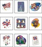 United States (U.S.A.) Matching Games eBook
