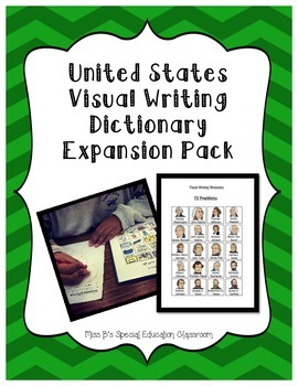 United States Visual Writing Dictionary Expansion Pack