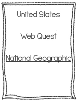 United States Web Quest