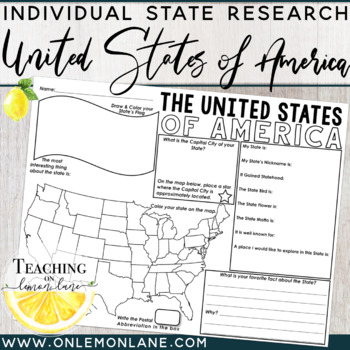United States & Capitals Fact Fill In {Use with United States Flash Cards}