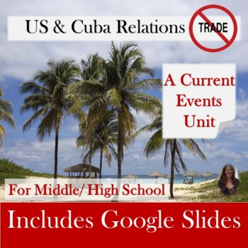 United States and Cuba Relations Current Events Unit for Special Education