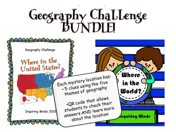 United States and World Geography Challenge BUNDLE