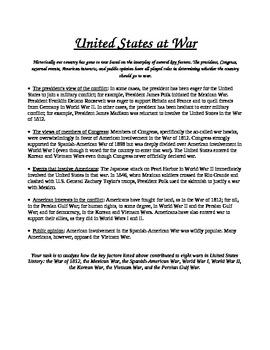 United States at War